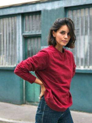 sweatshirt-recycle-rouge-femme-hero-seva.